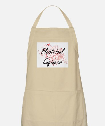 Electrical Engineer Artistic Job Design with Apron