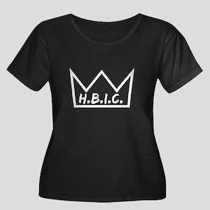 Motherf*cking Hbic Plus Size T-Shirt