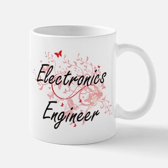 Electronics Engineer Artistic Job Design with Mugs
