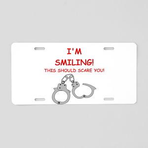 bondage joke on gifts and t-shirts. Aluminum Licen