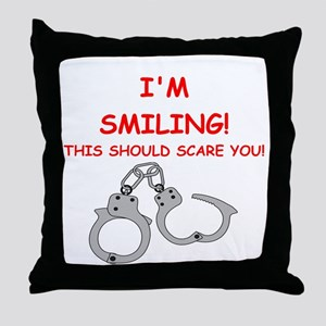 bondage joke on gifts and t-shirts. Throw Pillow