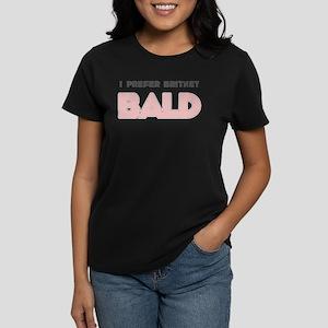 I Prefer Britney Bald Women's Dark T-Shirt