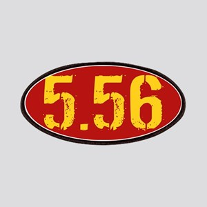 5.56 Ammo: Red & Gold Patch