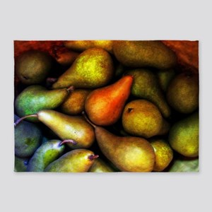 Still Life with Pears 5'x7'Area Rug