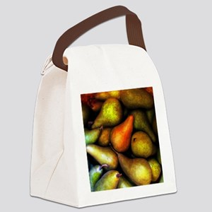 Still Life with Pears Canvas Lunch Bag