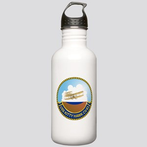 USS Kitty Hawk CV-63 Stainless Water Bottle 1.0L