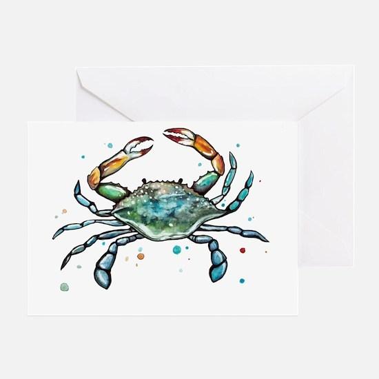 Cute Crab Greeting Card