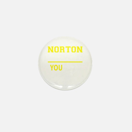 NORTON thing, you wouldn't understand! Mini Button