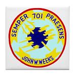 USS John W. Weeks (DD 701) Tile Coaster