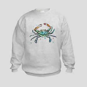 Maryland Blue Crab Kids Sweatshirt