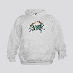 Maryland Blue Crab Kids Hoodie