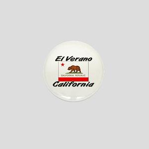 El Verano California Mini Button