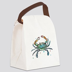 Maryland Blue Crab Canvas Lunch Bag