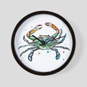 Maryland Blue Crab Wall Clock