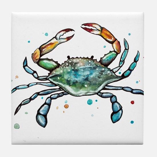 Maryland Blue Crab Tile Coaster
