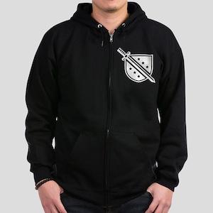 Phi Delta Theta Crest Zip Hoodie (dark)