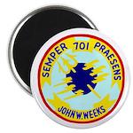 USS John W. Weeks (DD 701) Magnet