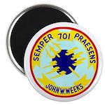 """USS John W. Weeks (DD 701) 2.25"""" Magnet (10 pack)"""