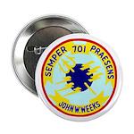 """USS John W. Weeks (DD 701) 2.25"""" Button (100 pack)"""