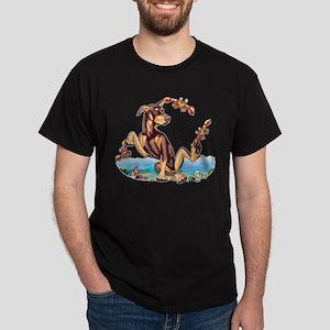 Red Doberman Pinscher Kinda Crabby Dark T-Shirt