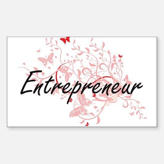 Entrepreneur Artistic Job Design with Butt Decal