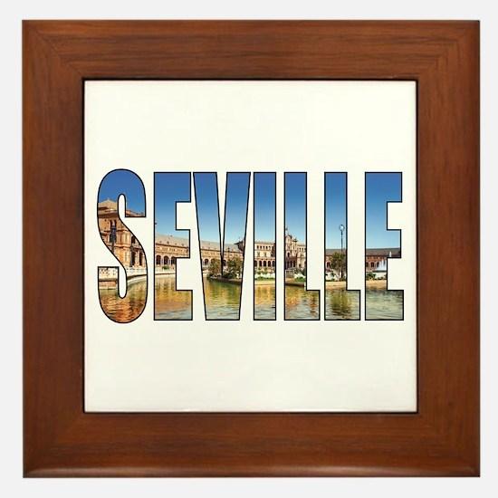 Seville Framed Tile