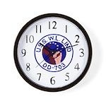 USS W. L. Lind (DD 703) Wall Clock