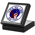 USS W. L. Lind (DD 703) Keepsake Box