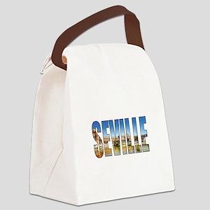Seville Canvas Lunch Bag