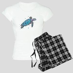 Sea Turtle Women's Light Pajamas
