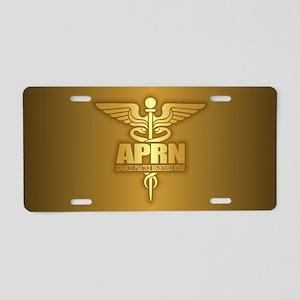 APRN Aluminum License Plate