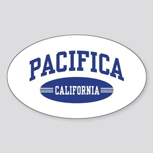 Pacifica California Sticker (Oval)