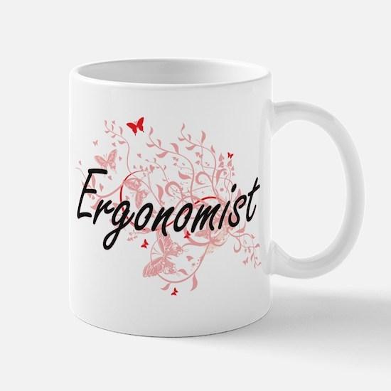 Ergonomist Artistic Job Design with Butterfli Mugs