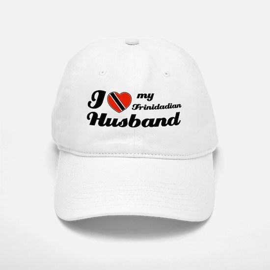 I love my Trinidadian Husband Baseball Baseball Cap