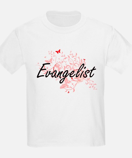 Evangelist Artistic Job Design with Butter T-Shirt