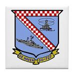 USS De Haven (DD 727) Tile Coaster