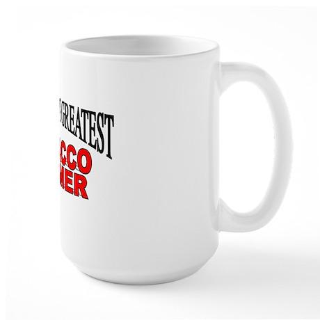 """The Worlds Greatest Tobacco Farmer"" Large Mug"