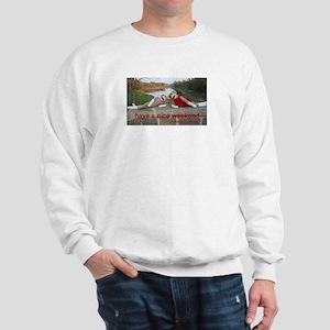 Nice Weekend Sock Monkey Sweatshirt