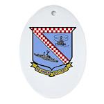 USS De Haven (DD 727) Oval Ornament