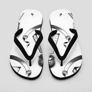 illuminati Flip Flops