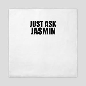 Just ask JASMIN Queen Duvet