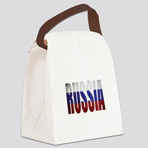 Russia Canvas Lunch Bag
