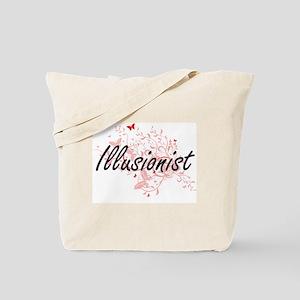 Illusionist Artistic Job Design with Butt Tote Bag