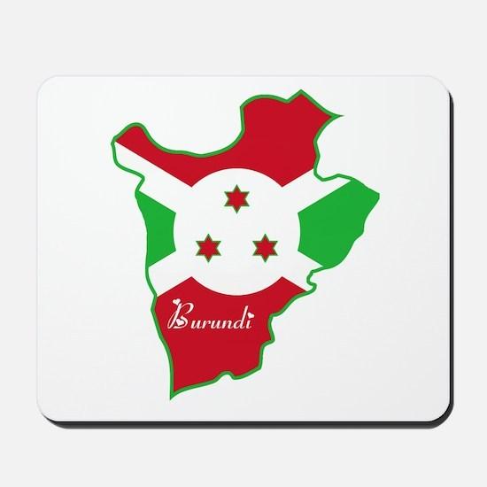 Cool Burundi Mousepad