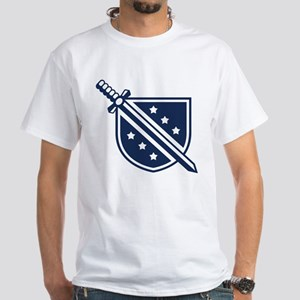 Phi Delta Theta Crest White T-Shirt