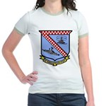 USS De Haven (DD 727) Jr. Ringer T-Shirt
