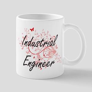 Industrial Engineer Artistic Job Design with Mugs