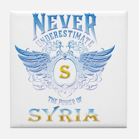 never underestimate the power of Syri Tile Coaster