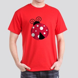 Red Lady Bug T-Shirt