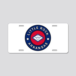 Little Rock Arkansas Aluminum License Plate